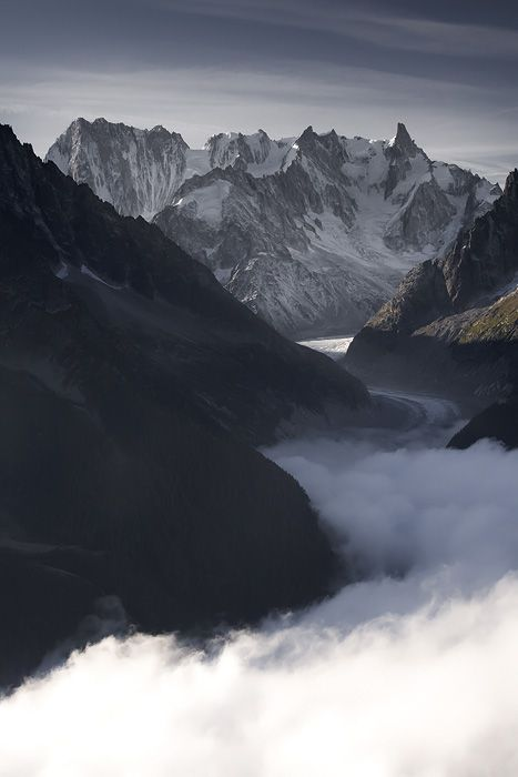 Vallee blanche… by ~vincentfavre