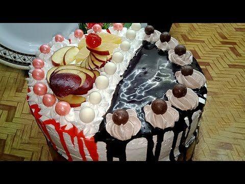 لوانتي لسة مبتدئه في تزيين التورتة يبقي لازم تشوفي الفيديو دا تزيين ا Desserts Cake Birthday Cake