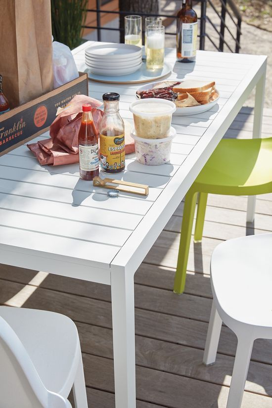 Eos Dining Table Design Within Reach In 2020 White Outdoor Table Outdoor Dining Spaces Dining Table Design