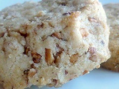 Brown Butter Pecan Shortbread Cookies