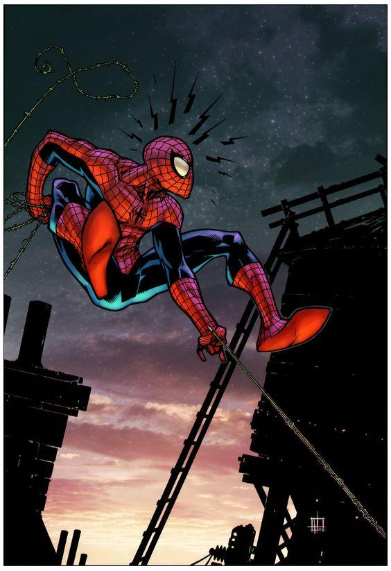 Spider-man by Zack Howard by Creation-Matrix on deviantART
