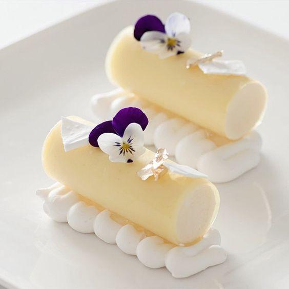 Lemon Mousse, Lemon Mint Gelee, White Meringue. ✅ By - @peckale ✅…: