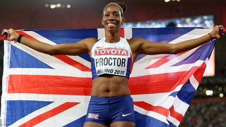 GB's Proctor wins long jump silver