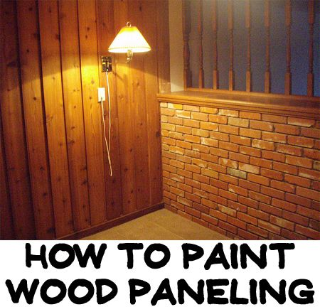 How to paint wood paneling make a room dr who and Can you paint wood paneling