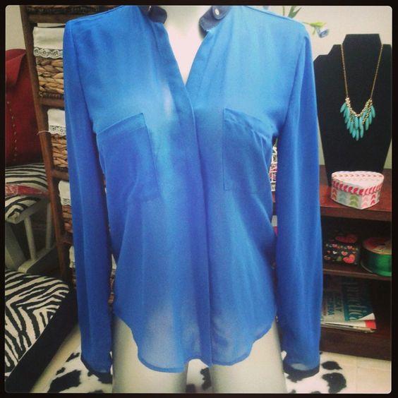 Blusa Azul rey