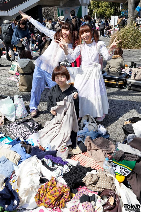 Yoyogi Flea Market – Pictures & Video From Tokyo's Hippest Open-Air Resale Market
