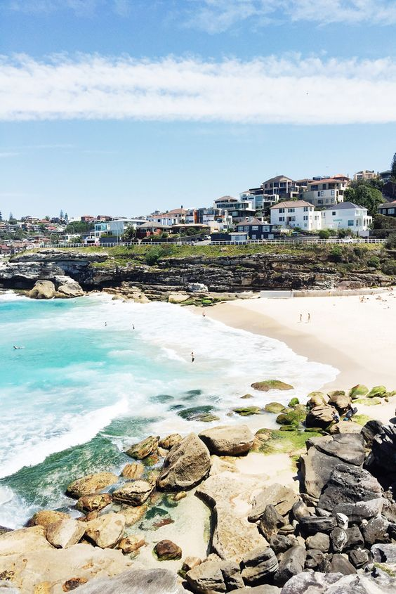 Tamarama Beach via Beautifully, Suddenly