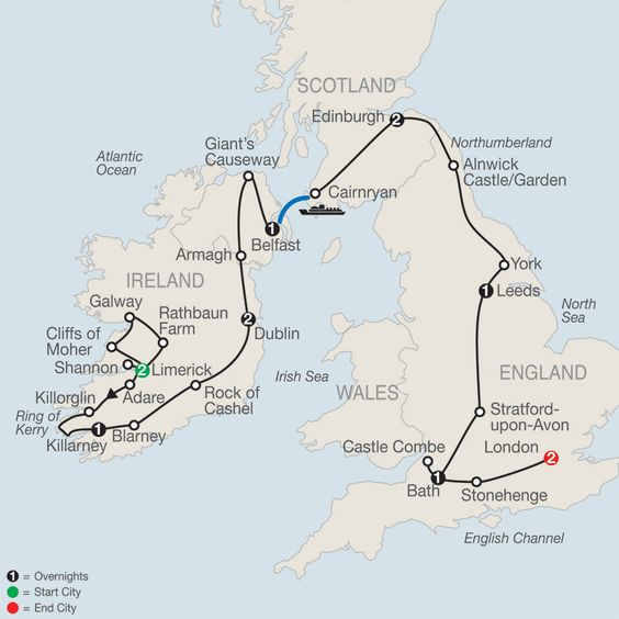 Opinion Escorted tours of ireland scotland very valuable