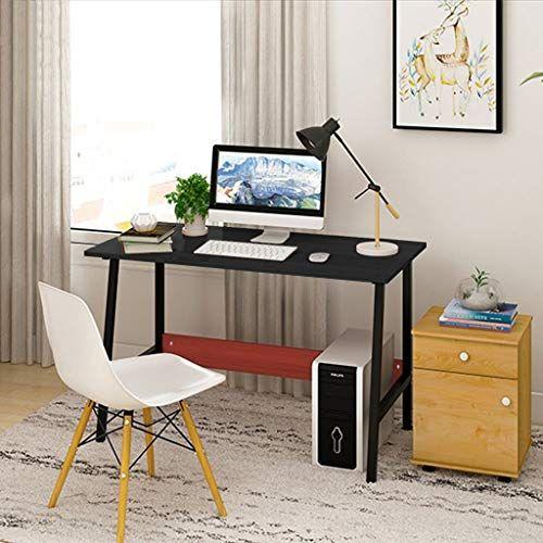Wensltd Modern Sturdy Office Table Computer Desk Pc Laptop Table