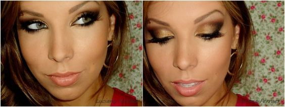 gold Smoky eye... gorgeous!!