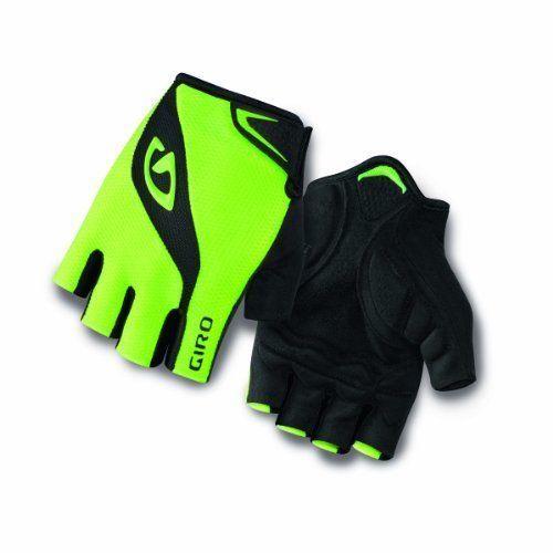 New Giro Bravo Gel RED//BLACK Half Fingers Cycling Gloves Size XL
