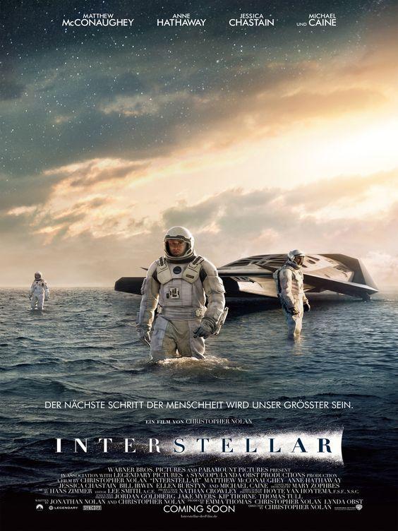 Interstellar, Ein Film von Christopher Nolan mit Matthew McConaughey, Anne Hathaway. Übersicht und Filmkritik. Was…