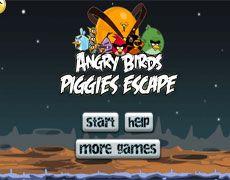 Angry Birds Piggies Escape | Juegos Angry Birds