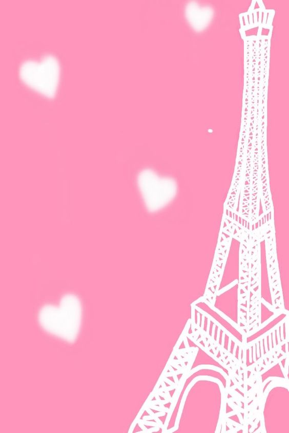 eiffel tower pink background iphone 5 wallpapers and
