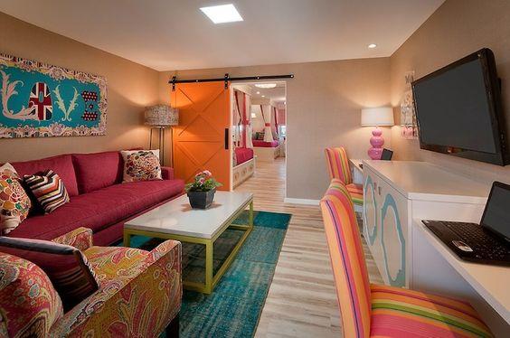 pinterest painting entertainment centers for small rooms | rooms - media room, built-in desk, media center, entertainment center ...