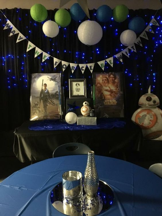 Star Wars Themed Teacher Appreciation Week Party Lounge Decorations