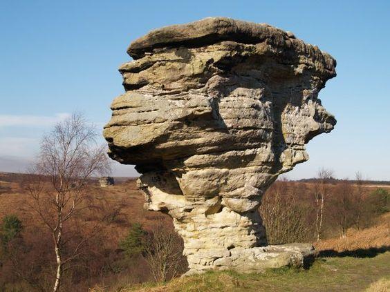 Bridestones North Yorkshire Moors
