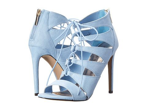Baby blue lace-up heels from Madden Girl. #heels #shoes #shoelove ...