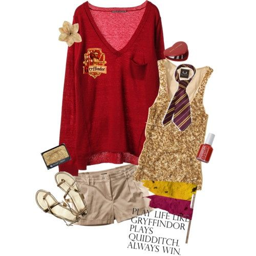 now that's a Harry Potter outfit!