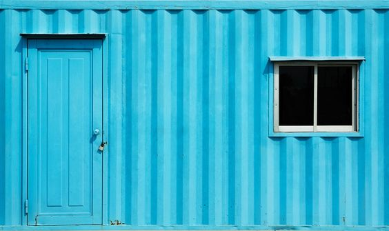 Container site sheds