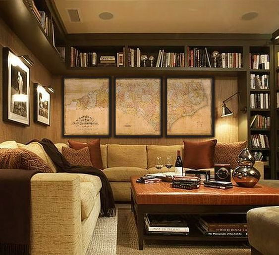 cozy basement finishing