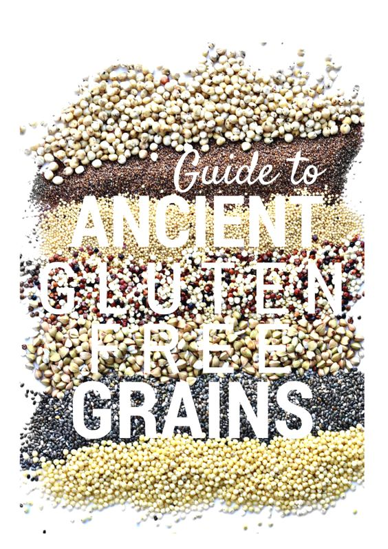 Guide to Gluten Free Ancient Grains + recipes! via @forkandbeans
