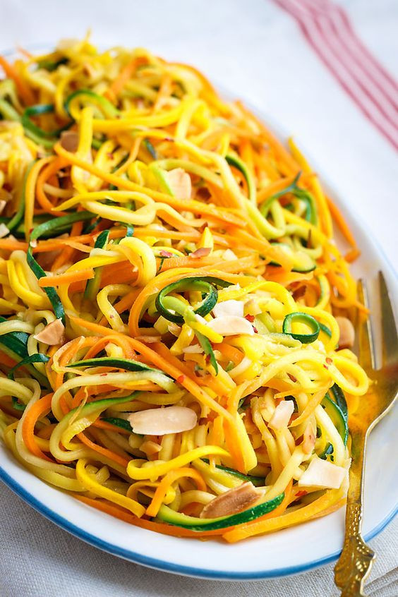 This easy recipe combines zucchini, yellow summer squash and carrot for a colorful side dish, perfect with grilled meat of chicken.