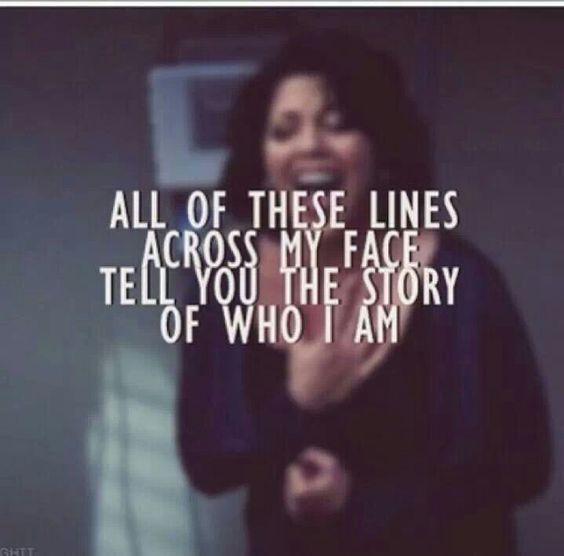 The story Sara Ramirez. She is so freaking gorgeous she is like my Role Model! She is like Perfect I love her and calzona is amazing I hope they never split because they are so cute! Anyway Sara Ramirez is just beautiful and pretty and just like Perfect!