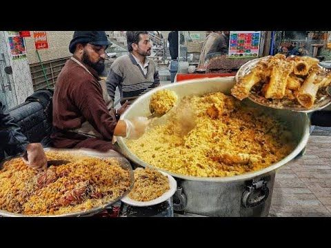 Malang Jan Bannu Beef Pulao Gt Road Tarnol Malang Jan Kabuli Bannu Pulao Pakistan Street Food Youtube In 2020 Street Food Food Macaroni And Cheese
