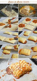 Mami Talks™: Dulce de Leche Bars | Crescent Roll Creations ...