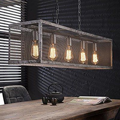 Pendant Lamp Rustic Industrial Design Vintage Loft Style Dining