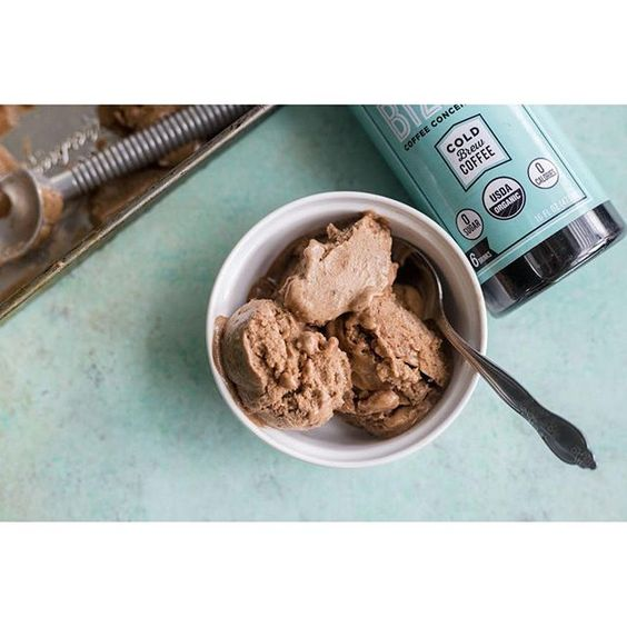 Chocolate Coffee Banana Ice Cream: The best healthy way to cool down this summer! Check out the recipe on our website :coffee::thumbsup: