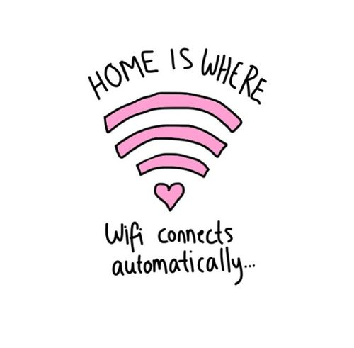 Home is where wifi connects automatically