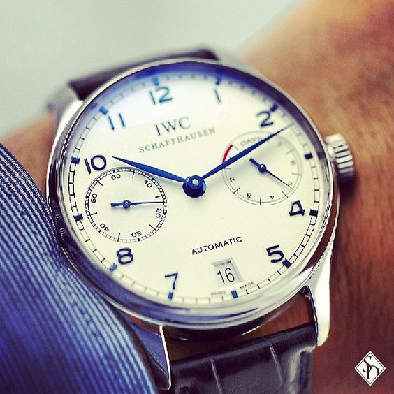 IWC Portuguese Automatic IW500107 #iwc #iwcwatches #iwcportuguese