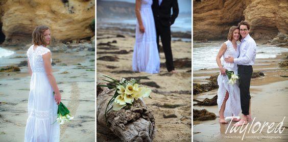 Beach Wedding at Crystal Cove in California