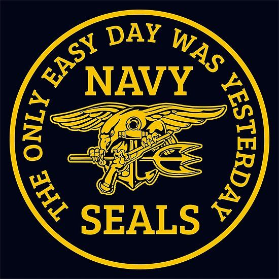 Navy Seals The Only Easy Day Was Yesterday Poster By Wikingershirts In 2020 Navy Seal Wallpaper Navy Seals Us Navy Seals