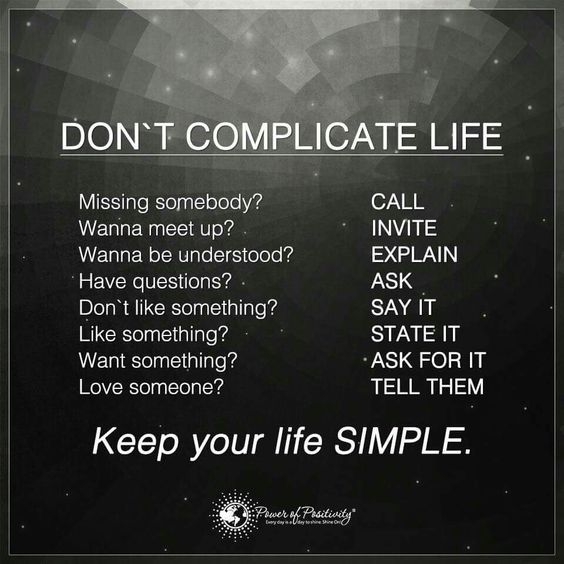 Don't complicate life. It is that simple.