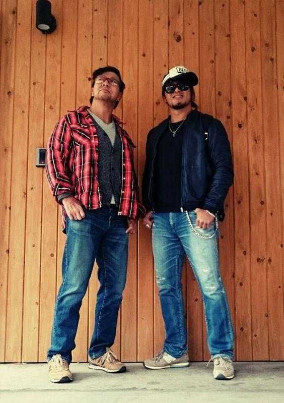 Hiroshi Tanahashi & Satoshi Kojima