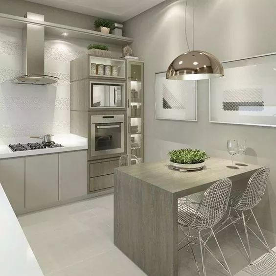 6 Modern Small Kitchen Ideas That Will Give A Big Impact On Your Daily Mood Houseminds Kitchen Design Small Small Apartment Kitchen Simple Kitchen Design