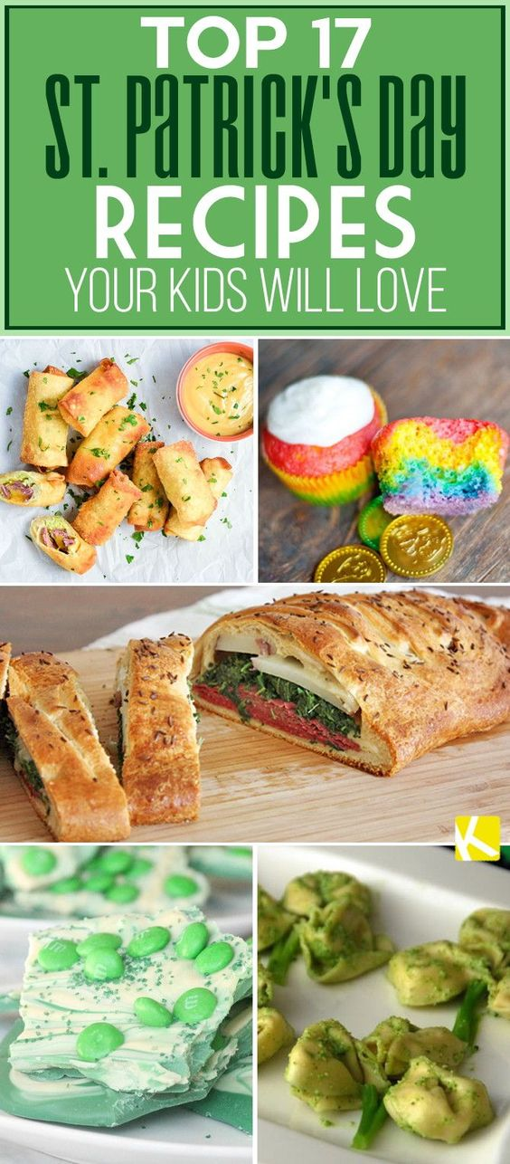 Top 17 St. Patrick's Day Recipes Your Kids Will Love