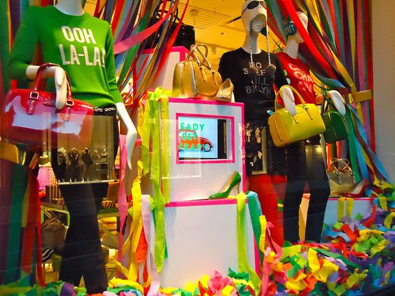 kate spade store windows holiday 2011