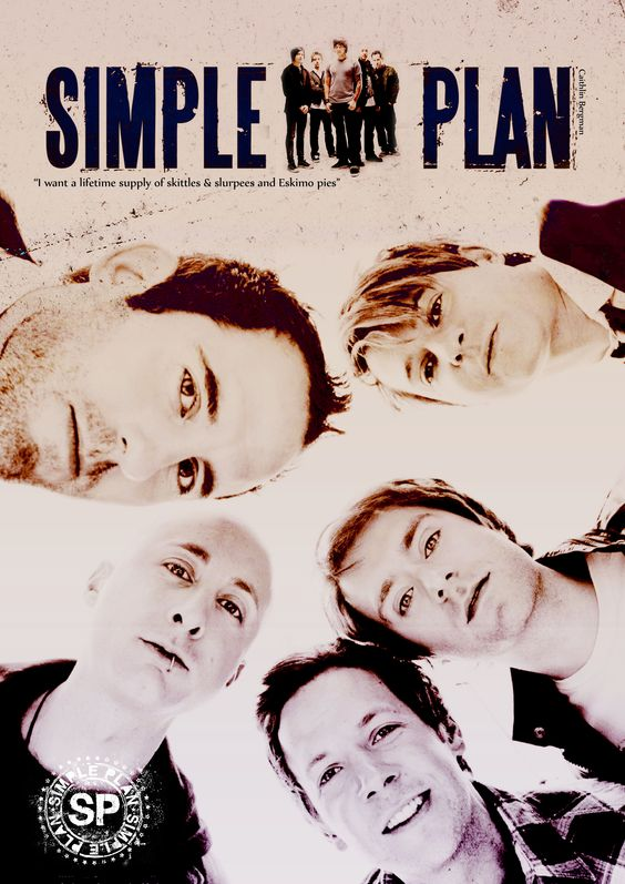 """Simple Plan Poster 