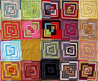 tutorial- how to sew a striped quilt block