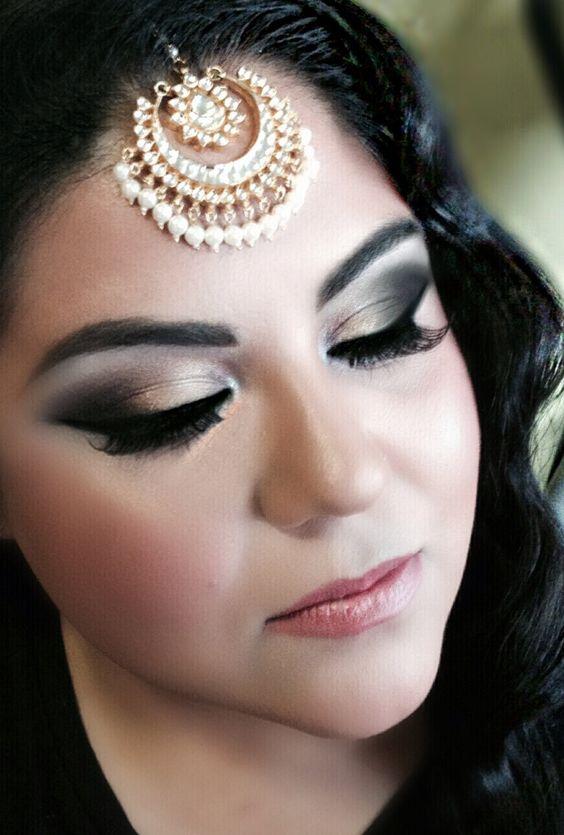 Exotic Wedding Makeup : Indian South Asian Bridal Makeup, South Asian wedding ...