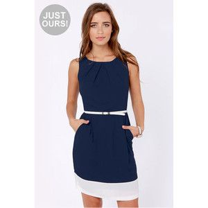 ladies dresses in navy and white - Google Search - CA Easter ...