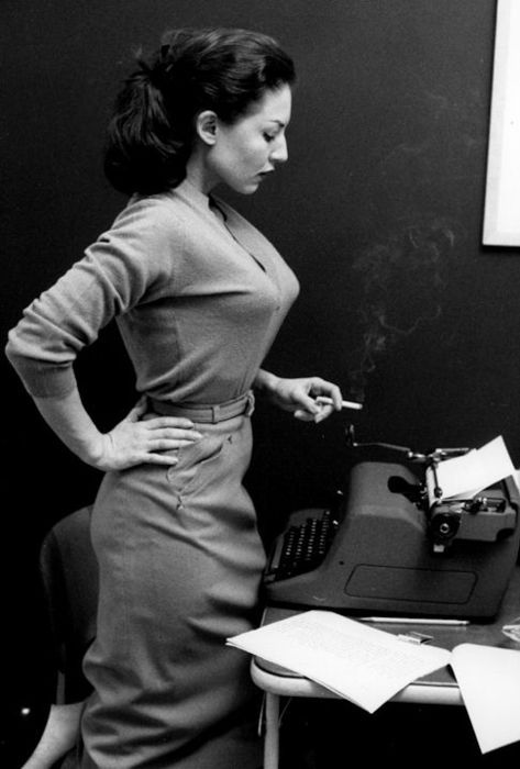 Alice Denham    Miss July, 1956.