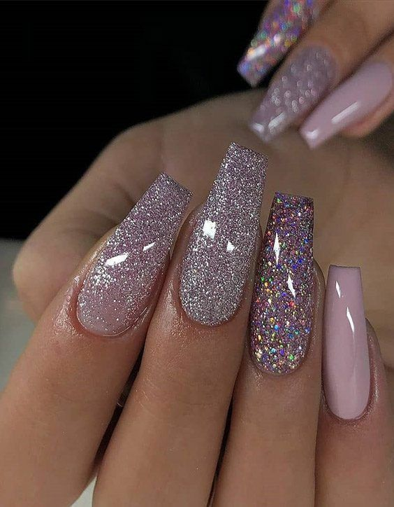 Modern Ideal Nail Styles For Teenage Girls In 2020 French Manicure Gel Nails Pretty Acrylic Nails Glitter Nails Acrylic