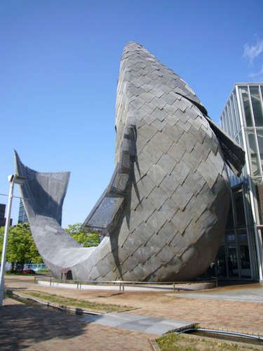 Frank Gehry Fish Dance Restaurant - Kobe: