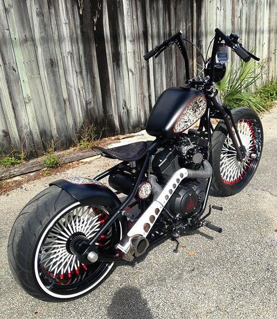 @anthony_bruno__ 💥 #bobber #chopper #kustomkulture #BNCNATION @dont_fuckin_die 💥