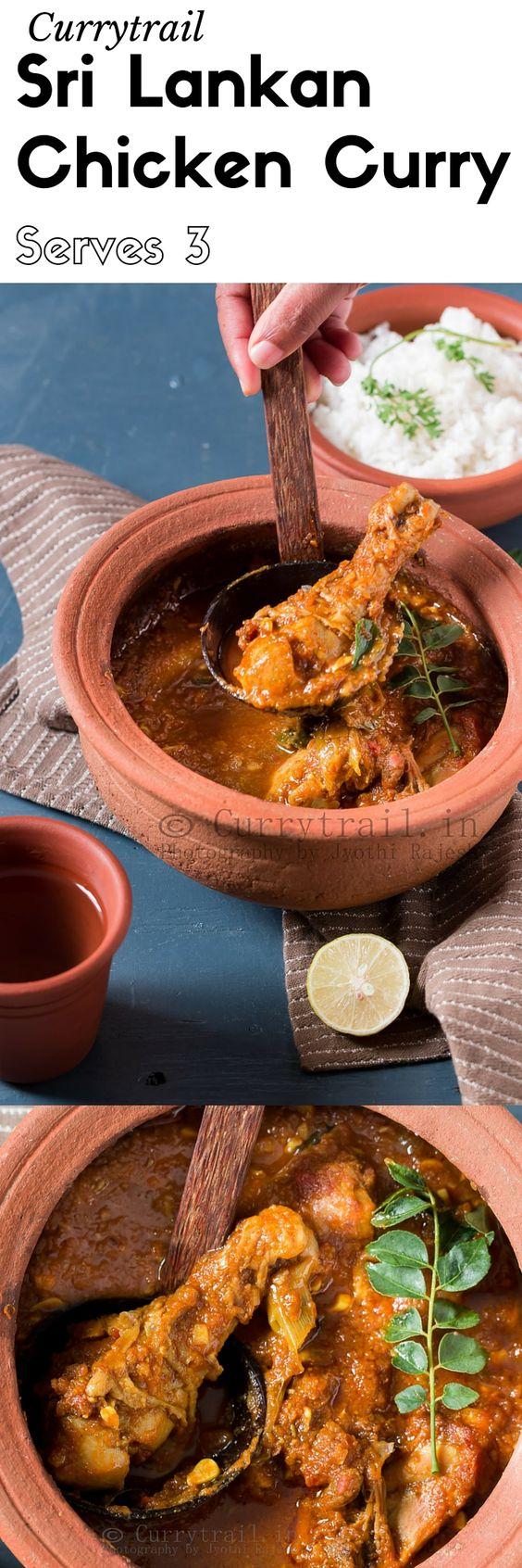 Sri Lankan Chicken Curry … | Pinteres…